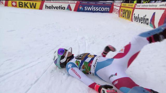 Lenzerheide (SUI), finales slalom dames: Michelle Gisin (SUI) [RTS]
