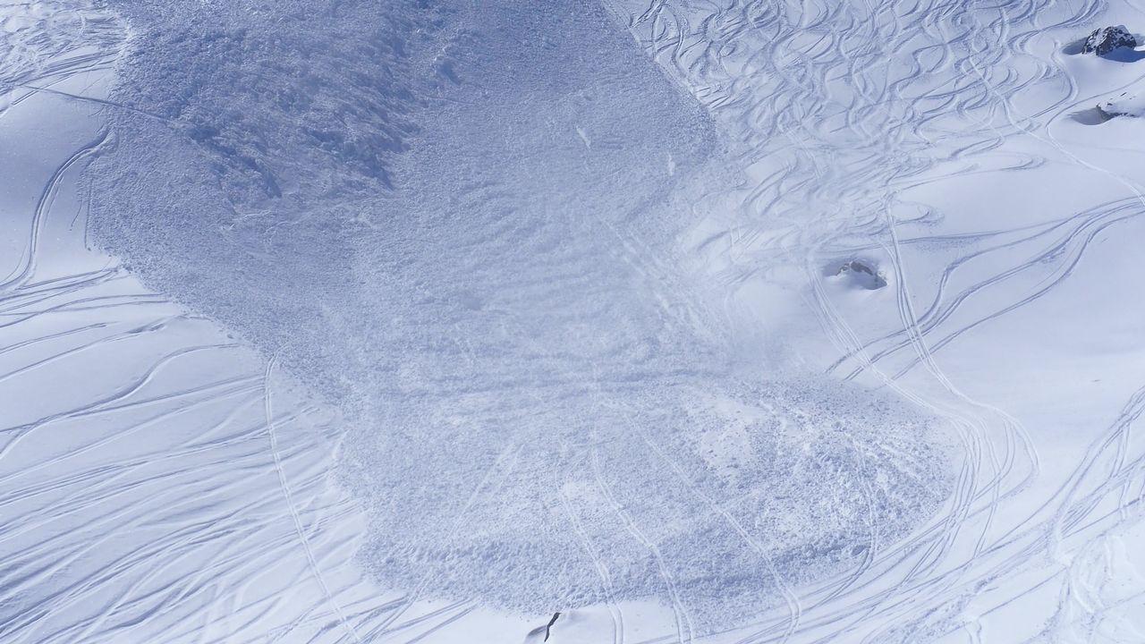 L'avalanche a eu lieu dans le secteur du Greppon Blanc, à Hérémence. [Police cantonale valaisanne]