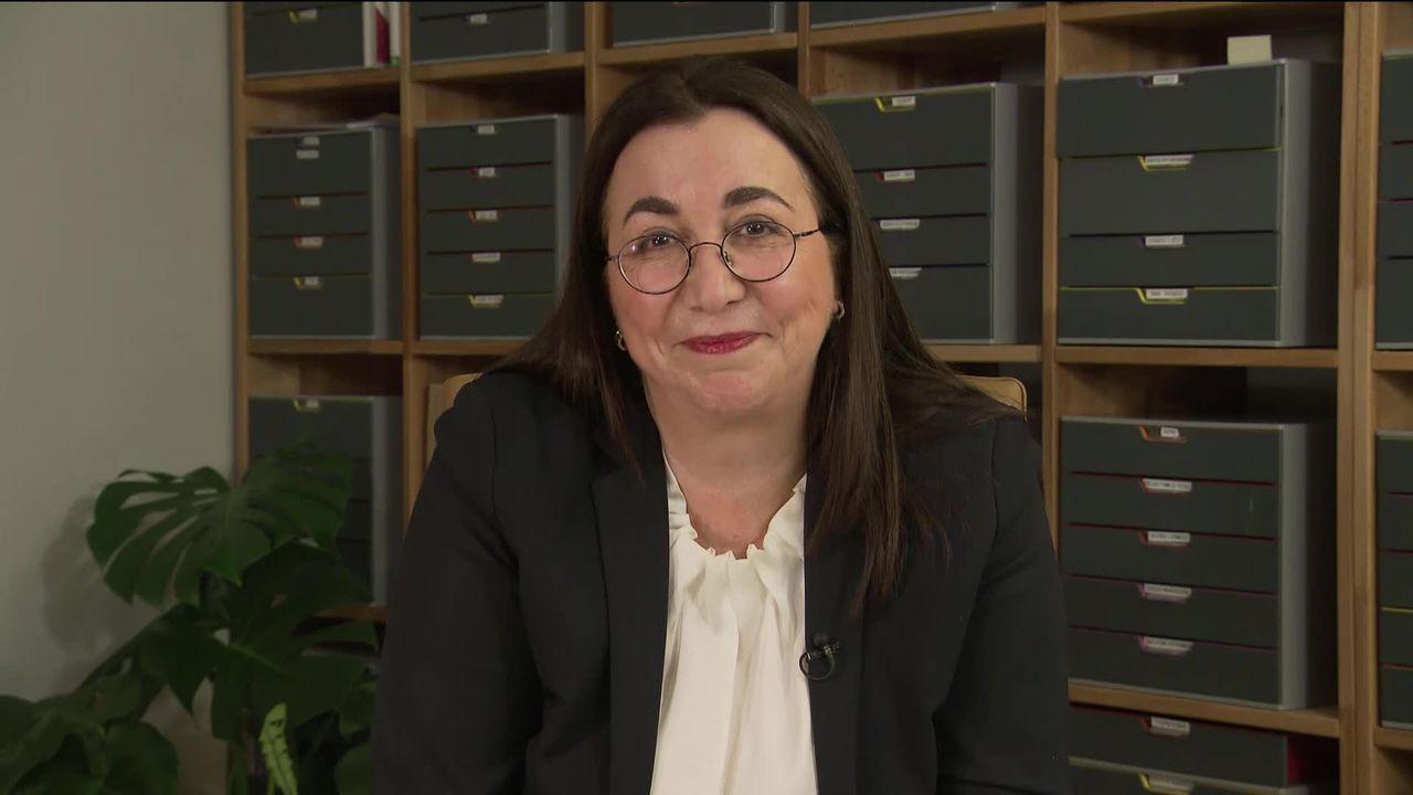 Interview : Cesla Amarelle [RTS]