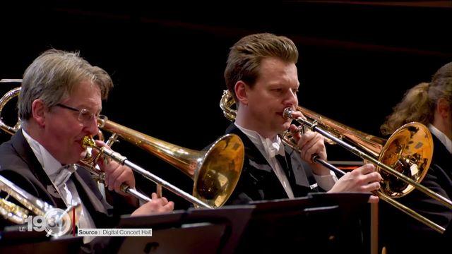 La Philharmonie de Berlin a organisé hier soir un concert-test avec 1'000 spectateurs. [RTS]