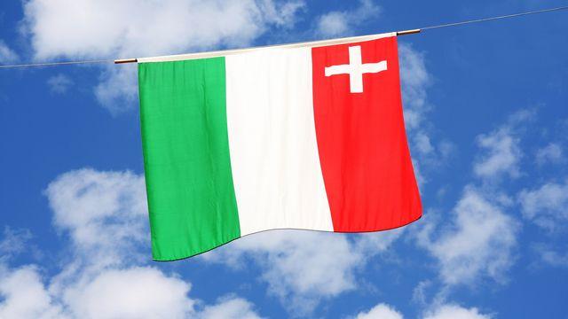Le drapeau du canton de Neuchâtel. [Depositphotos]