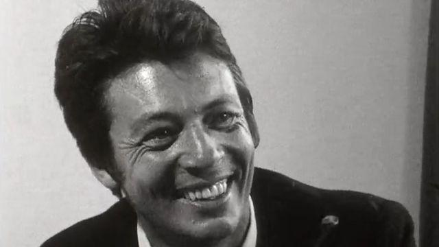 Le dessinateur Jean-Jacques Sempé en 1969. [RTS]