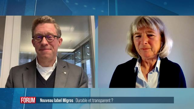 Migros lance un indice de durabilité pour ses produits: débat entre Tristan Cerf et Barbara Pfenniger [RTS]