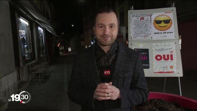 Le commentaire du chef du bureau jurassien de la RTS Cédric Adrover sur le vote historique de Moutier rejoignant ou non le canton du Jura. [RTS]