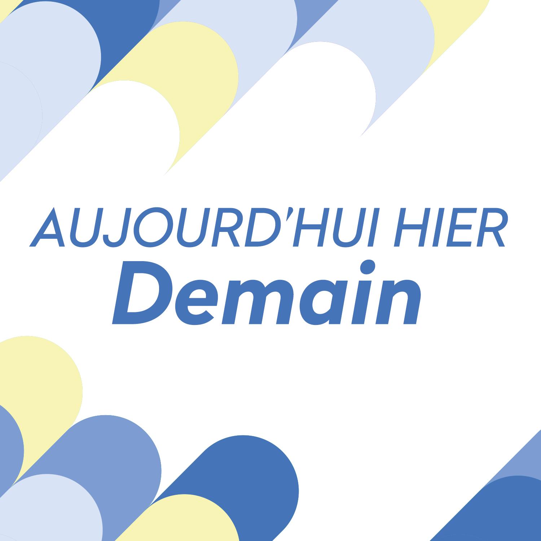 Logo podcast - Aujourd'hui hier demain [RTS - RTS]