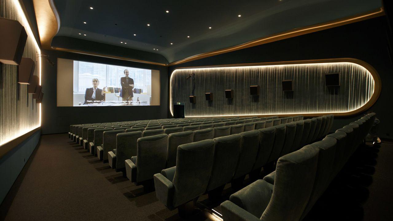 La salle Nord du cinéma Le Nord-Sud photographiée lors d'une conférence de presse concernant la réouverture du cinéma indépendant Le Nord-Sud le 19 août 2019 à Geneve. [Salvatore Di Nolfi - Keystone]