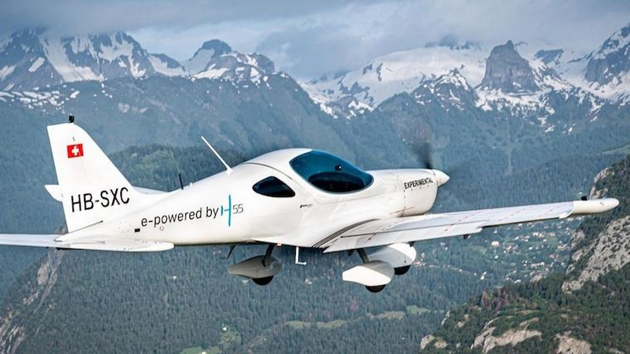 Aviation et durabilité: quel avenir pour l'aviation électrique? [© H55]