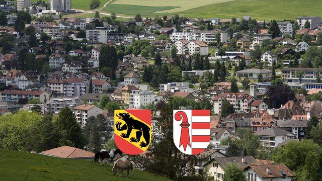 Berne ou le Jura, la ville de Moutier se choisit un canton ce dimanche [Jean-Christophe Bott - Keystone]