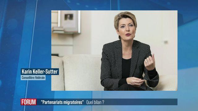 """Partenariat migratoire avec le Nigeria: """"Un modèle de réussite"""" selon Karin Keller-Sutter [RTS]"""