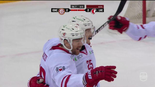 National League, 25e j.: Genève - Lausanne  (2-3): grand format [RTS]