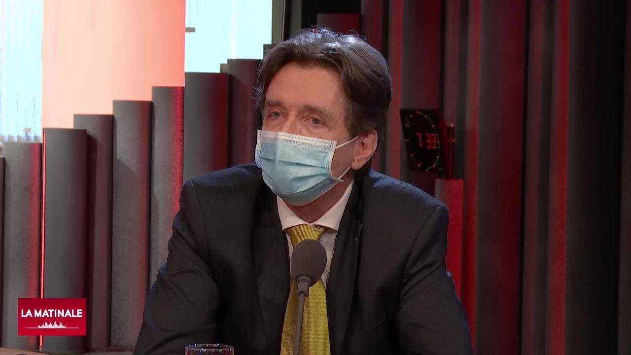 Jean-Christophe Geiser, en charge du dossier jurassien à l'Office fédéral de la justice (vidéo) [RTS]