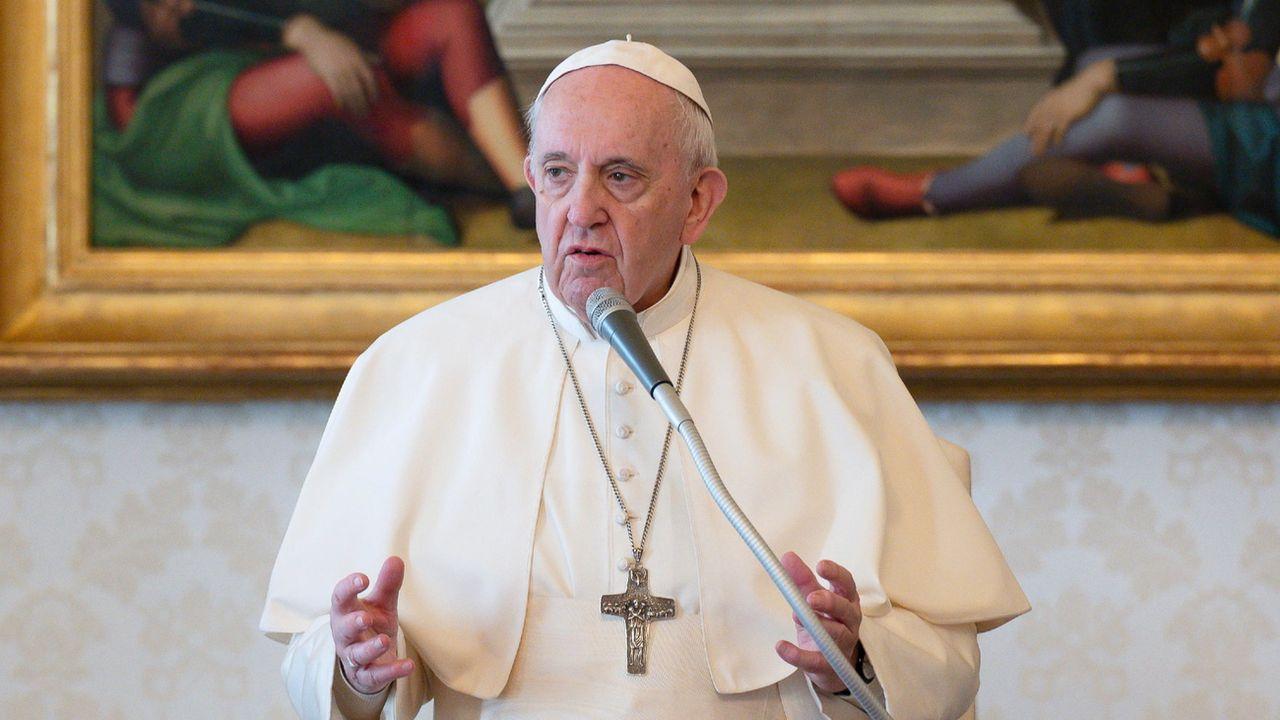Le pape François. [Keystone]