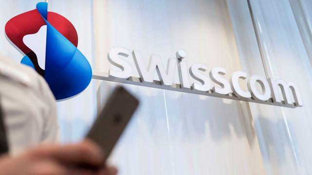 Tribunal fédéral: la RTS obtient l'accès à des documents concernant Swisscom. [Christian Beutler - Keystone]
