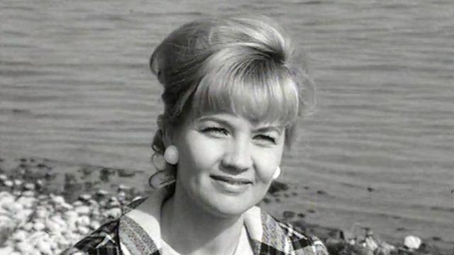 La comédienne suisse Liselotte Pulver en 1966. [RTS]