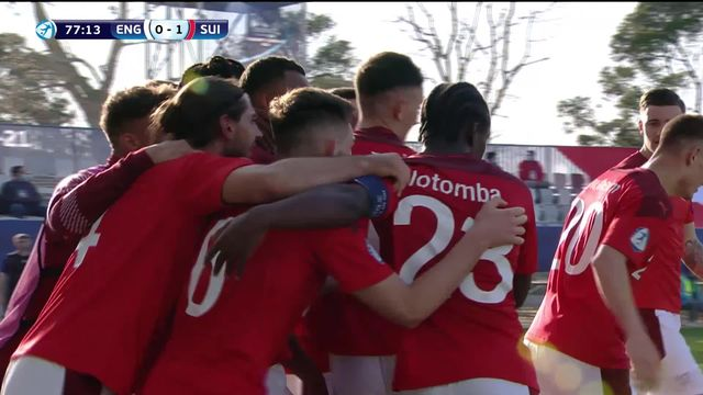 Gr. D, Angleterre - Suisse (0-1): superbe entrée en lice des jeunes helvètes [RTS]
