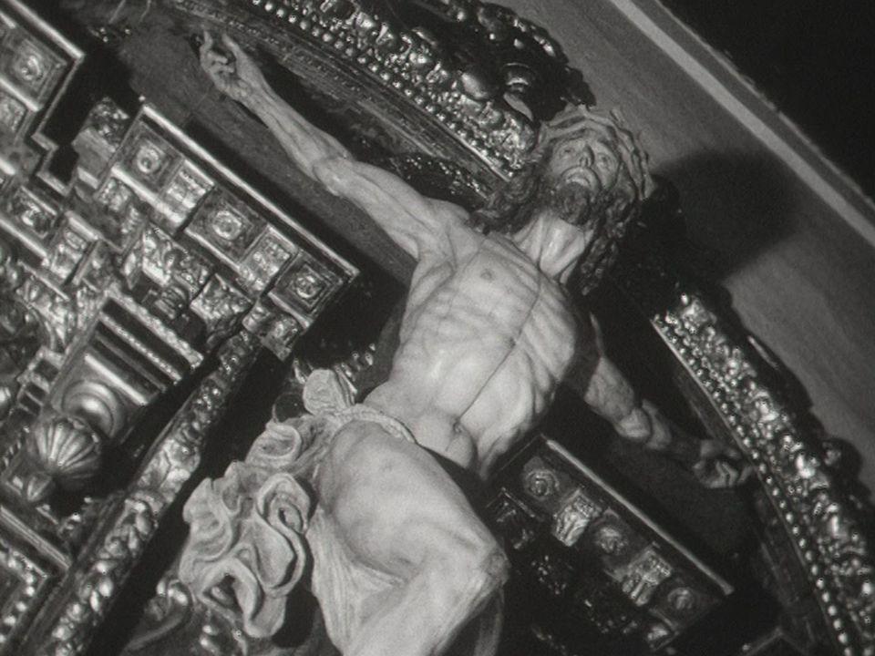 Pasos d'une confrérie de pénitents de Séville, 1970. [RTS]