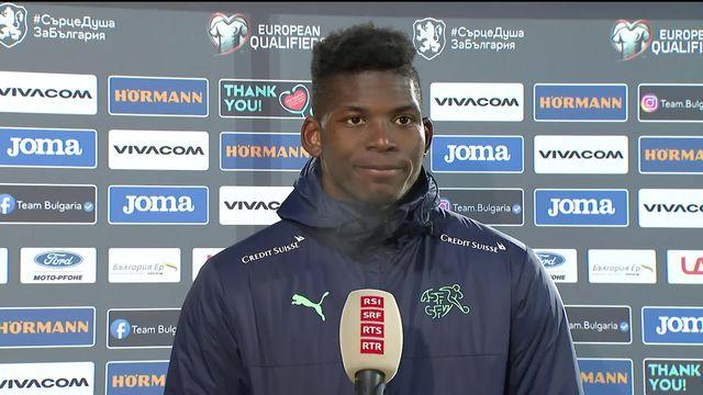 L'interview d'après match de Breel Embolo [RTS]