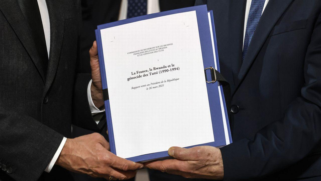 Le rapport de la commission d'historiens qui a examiné le rôle de la France dans le génocide des Tutsis au Rwanda conclut à sa lourde responsabilité. [Keystone]