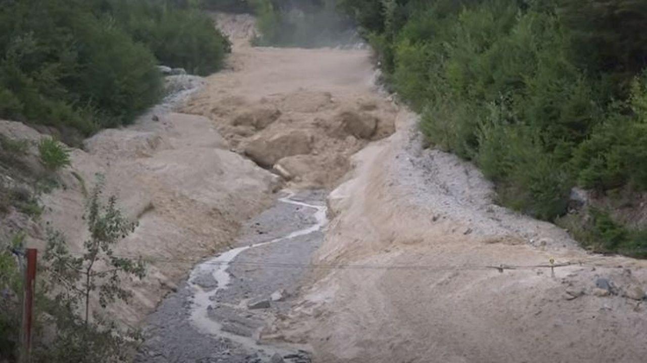 Laves torrentielles [Capture d'écran Youtube - Pierre-Emmanuel Zufferey]