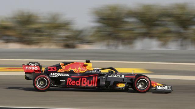 Verstappen a signé la quatrième pole position de sa carrière. [Kamran Jebreili - Keystone]