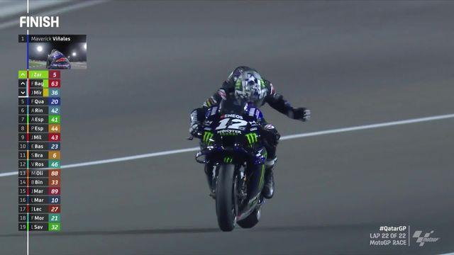 Losail (QAT), MotoGP: Vinales (ESP) remporte le premier GP de la saison [RTS]