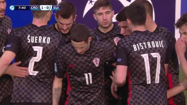 Gr. D, Croatie - Suisse (3-2): tous les buts de la défaite helvétique [RTS]
