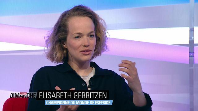 Ski freeride - Elisabeth Gerritzen [RTS]
