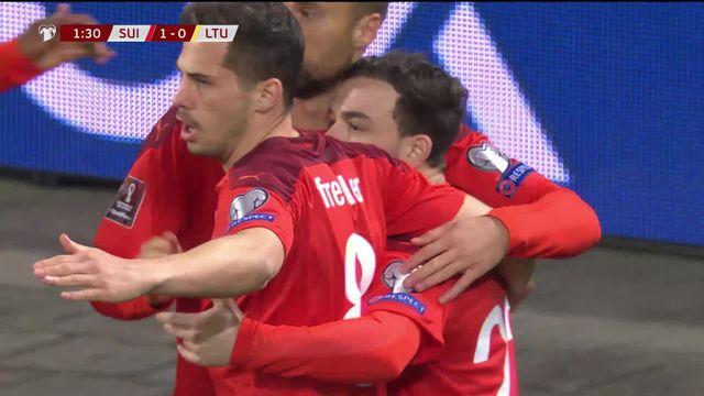 Gr. C, Suisse - Lituanie (1-0): les meilleurs moments de la victoire helvétique [RTS]