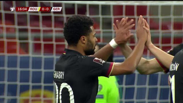 Gr. J, Roumanie - Allemagne (0-1): les Allemands s'imposent sur la plus petite des marges [RTS]