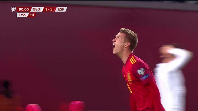 Gr. B, Géorgie - Espagne (1-2): victoire des Espagnols en Géorgie [RTS]