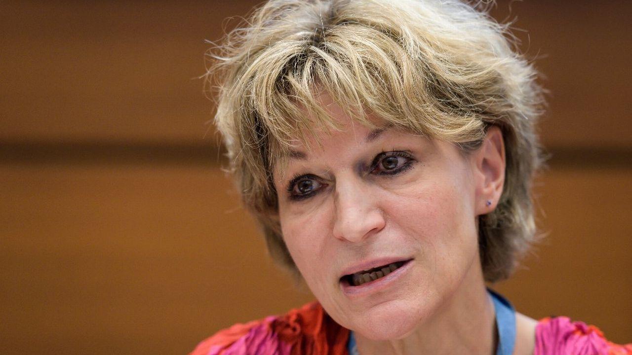 Agnès Callamard. [Fabrice Coffrini - AFP]