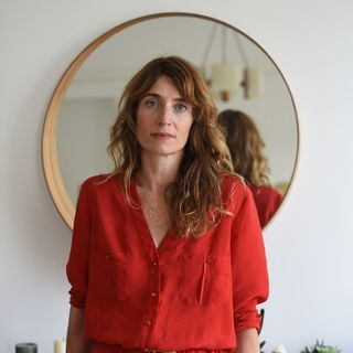 """Fanny Herrero, créatrice de la série """"Dix pour cent"""".  [Elise Toïdé / Hans Lucas P - AFP]"""