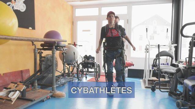 Les cybathlètes - Benoît Thévenaz [RTS]