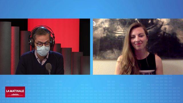 L'invitée de La Matinale (vidéo) - Arya Udry, planétologie et géologie martienne [RTS]