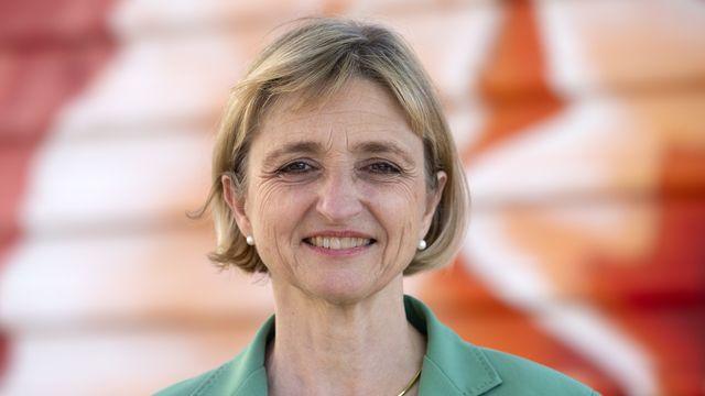 Le Département de l'économie et de l'emploi pour Fabienne Fischer. [Salvatore Di Nolfi - Keystone]