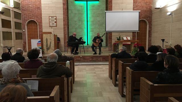 Culte de Pâques en Eurovision de l'Église baptiste de Grosseto, Italie [RTS]