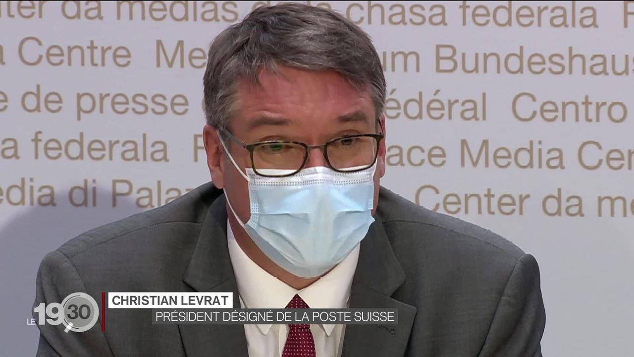 Le Fribourgeois Christian Levrat a été proposé comme président de La Poste [RTS]