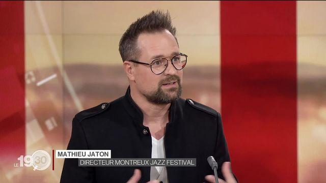"""Mathieu Jaton: """" Le Covid nous impose de revenir à l'intimité et la musique, des valeurs à l'origine du Montreux Jazz Festival"""" [RTS]"""