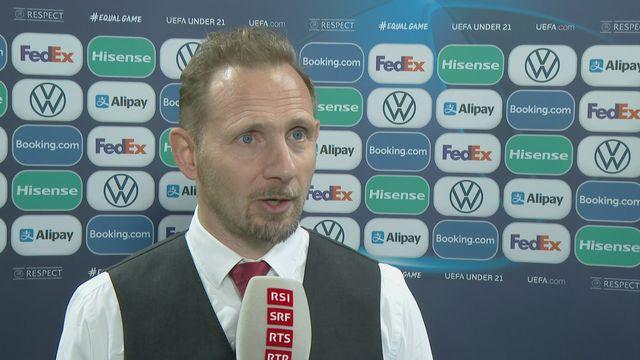 Gr. D, Suisse - Portugal (0-3): interview de Mauro Lustrinelli après la rencontre [RTS]