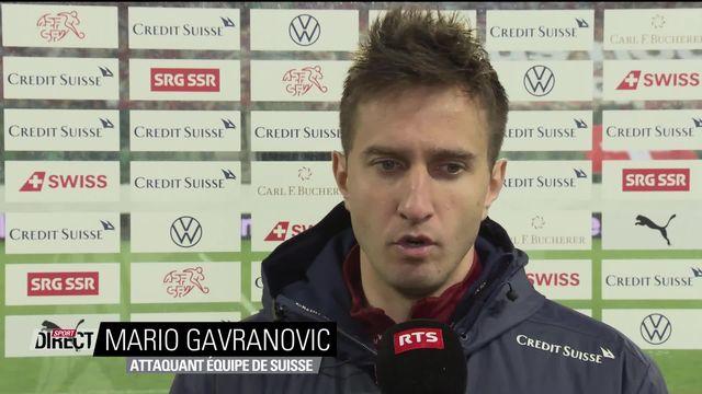 Suisse – Finlande (3-2) : interview de Mario Gavranovic après la rencontre [RTS]