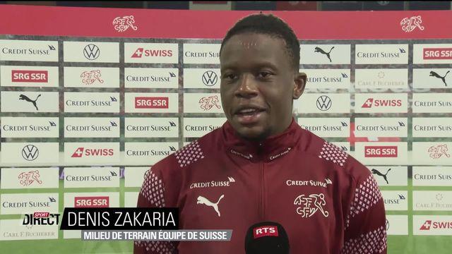 Suisse – Finlande (3-2) : interview de Denis Zakaria après la rencontre [RTS]