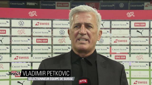Suisse – Finlande (3-2) : interview de Vladimir Petkovic après la rencontre [RTS]