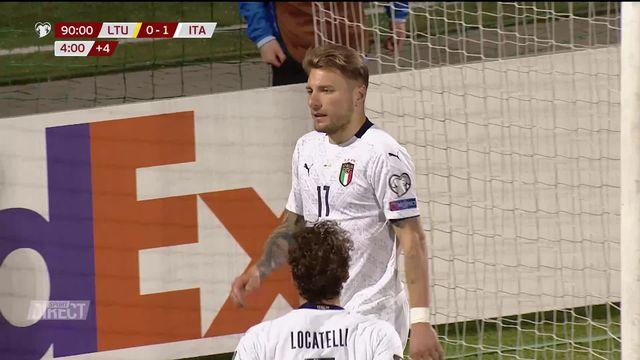 """Gr. C, Italie - Lituanie (2-0): La """"Squadra"""" l'emporte sans difficulté [RTS]"""
