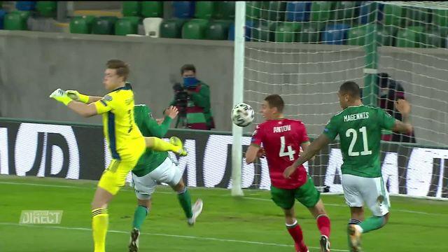 Gr. C, Irlande du Nord – Bulgarie (0-0): score nul et vierge au Windsor Park [RTS]