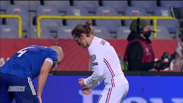 Gr. D, Bosnie –France (0-1): Griezmann offre la victoire aux Tricolores [RTS]