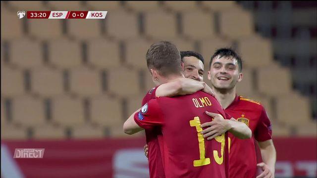 Gr. B, Espagne – Kosovo (3-1): pas de miracle pour la troupe de Challandes [RTS]