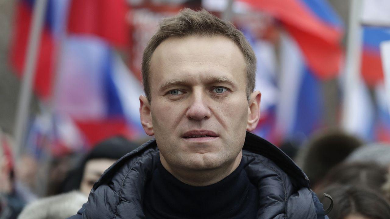 Alexeï Navalny. [Pavel Golovkin - AP]