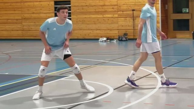 Volley:  Benjamin Diez le joker de Chênois pour la finale contre Amriswil [RTS]