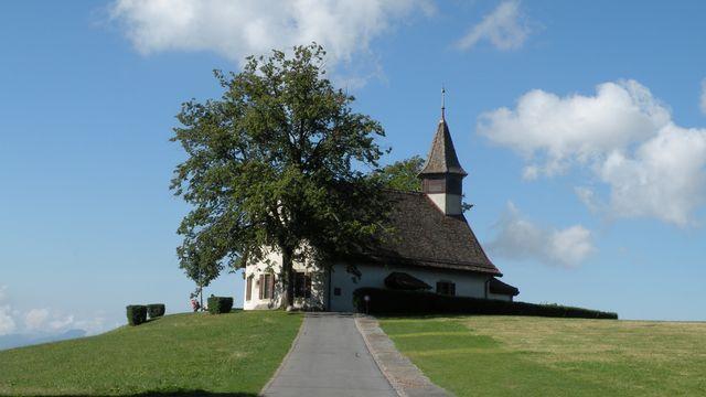 Église des Croisettes à Épalinges. [Pymouss  - CC BY-SA 3.0 / Wikimedia Commons]