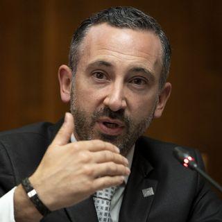 Le conseiller d'Etat Valaisan Frédéric Favre. [Laurent Gillieron - Keystone]